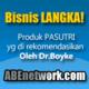 Peluang bisnis PT. ABE